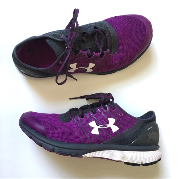 new arrival 6612d 60814 Under Armour Charged Bandit 2 Purple Sneakers